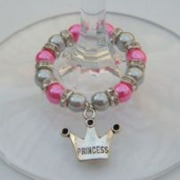 Fairytale Wine Glass Charms